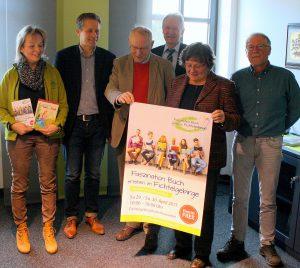 [von links): Rosemarie Döhler, Dr. Oliver van Essenberg, Karl-Heinz Düvel, Dr. Karl Döhler, Birgit Freudemann u. Heinz Späthling