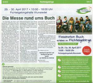 um es zu lesen: 1 Klick …! Quelle: Landkreiszeitung 4/2016, Ausgabe 15, S. 3